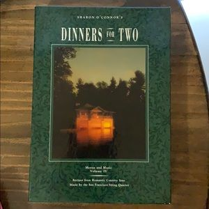 Sharon O'Connor Dinners for Two Cookbook and Music